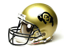 "Colorado Golden Buffaloes Full Size Authentic ""ProLine"" NCAA Helmet by Riddell"