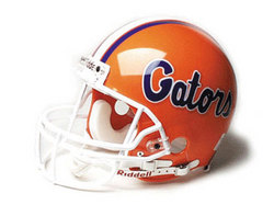 "Florida Gators Full Size Authentic ""ProLine"" NCAA Helmet by Riddell"
