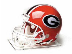 "Georgia Bulldogs Full Size Authentic ""ProLine"" NCAA Helmet by Riddell"