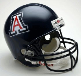 "Arizona Wildcats Full Size ""Deluxe"" Replica NCAA Helmet"