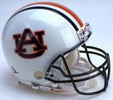 Auburn Tigers Riddell Full Size Authentic Helmet