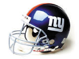 New York Giants Full Size Authentic  NFL Helmet by Riddell