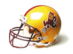 "Arizona State Sun Devils Full Size Authentic ""ProLine"" NCAA Helmet"
