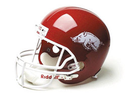 "Arkansas Razorbacks Full Size ""Deluxe"" Replica NCAA Helmet"